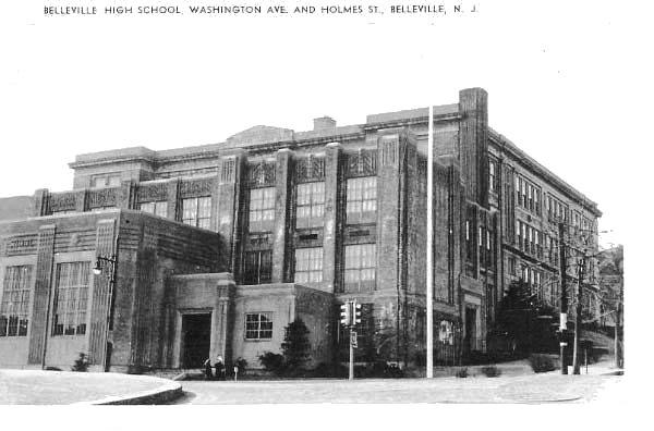 Bellevillehigh school, belleville, new jersey